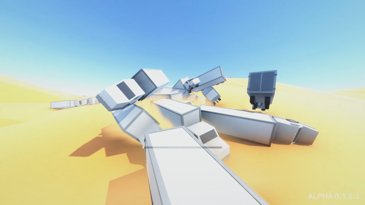 Clustertruck screenshot