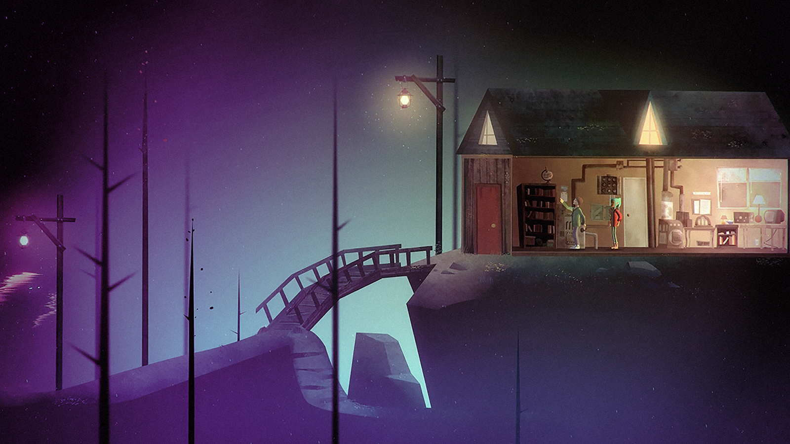 Oxenfree's gorgeous graphic